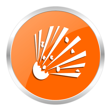 orange web button