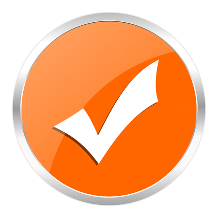 orange web button