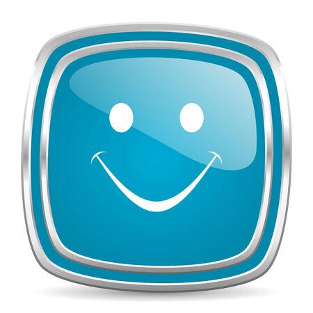 blue web icon photo