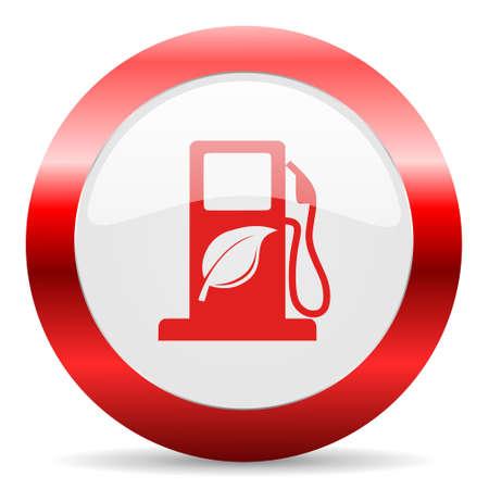canola: red white web icon Stock Photo