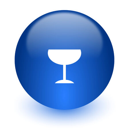 champain: web icon on white background