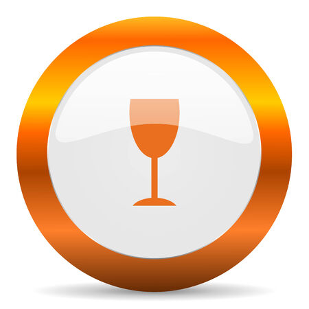 champain: glossy web icon