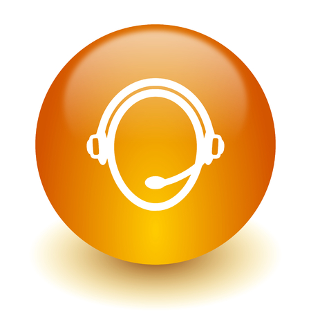 service sphere support web: web icon Stock Photo