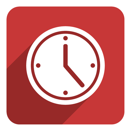 time flat icon photo