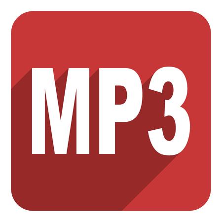mp3 flat icon photo