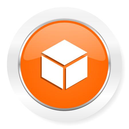 orange computer icon photo