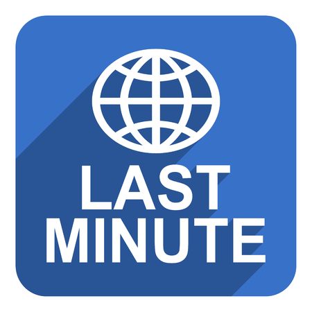 minute: last minute flat  icon