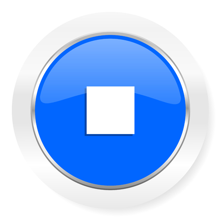 blue glossy web icon photo