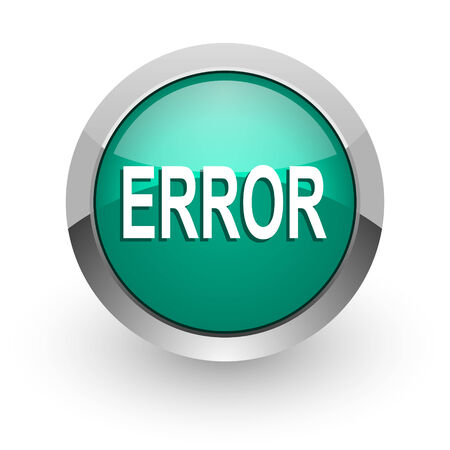 error green glossy web icon  photo