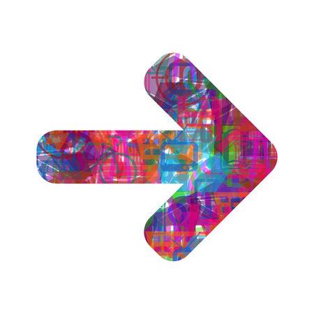 panel de control: icono de flecha