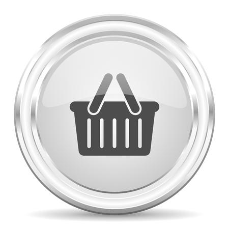glossy circle internet icon photo