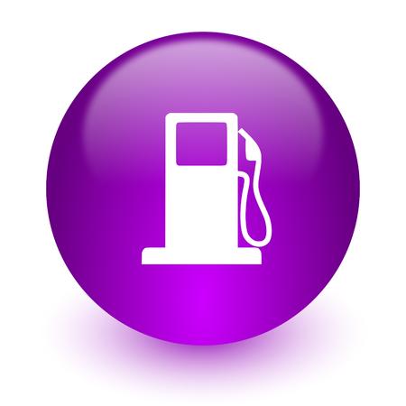 bio diesel: glossy circle internet icon