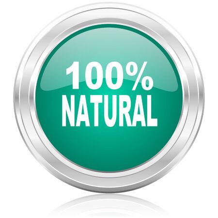 green glossy internet icon photo
