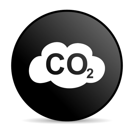 carbon dioxide icon  photo