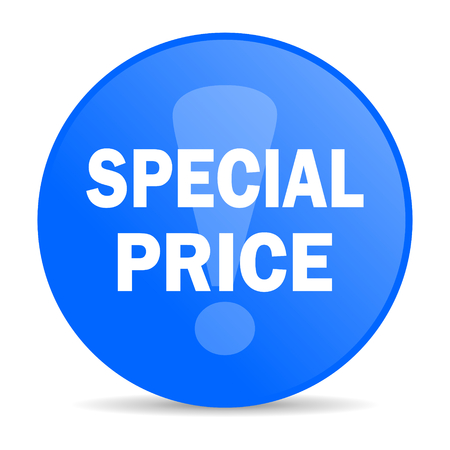 special price internet blue icon  photo