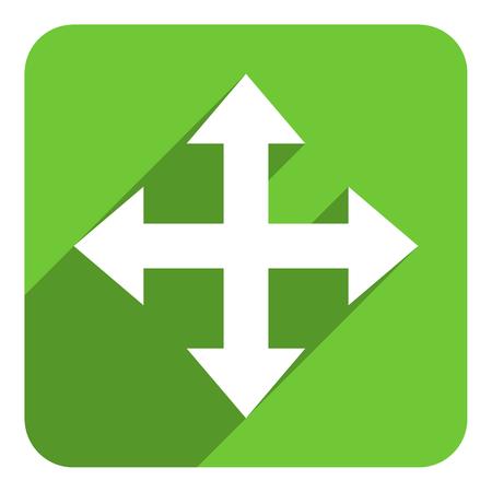 arrow flat icon photo