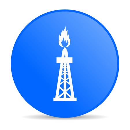 gas internet blue icon  photo