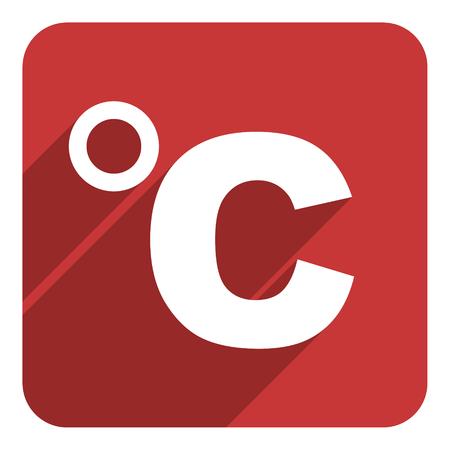 celsius: celsius icon Stock Photo