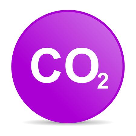 carbon dioxide: carbon dioxide web icon