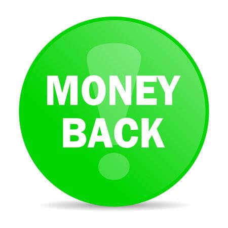 money back: money back internet icon  Stock Photo