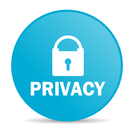 privacy internet icon  Stock Photo