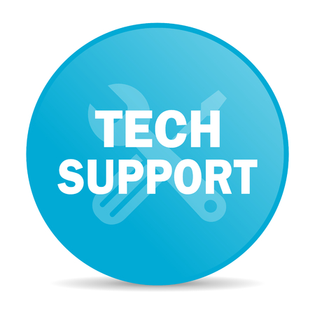 technical support internet icon  photo