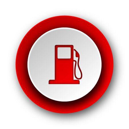 petrol red modern web icon on white background   photo