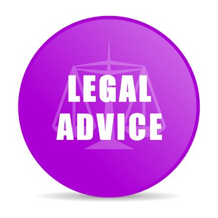 injustice: legal advice web icon