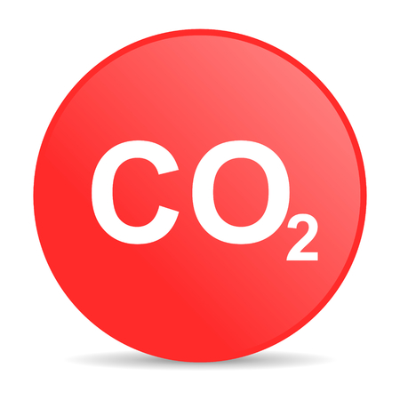 dioxide: carbon dioxide web icon