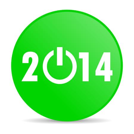 year 2014 internet icon  photo