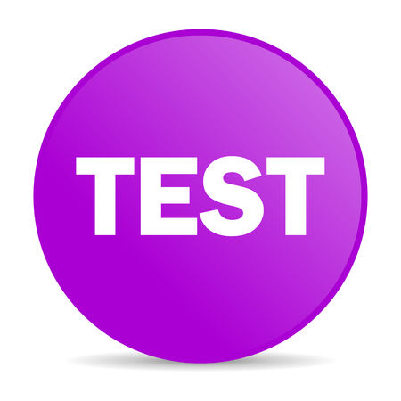 test web icon  photo