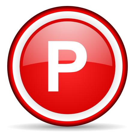 red circle internet icon photo