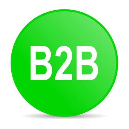 b2b: icono de internet b2b