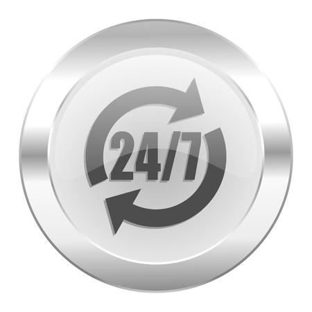 service chrome web icon isolated photo