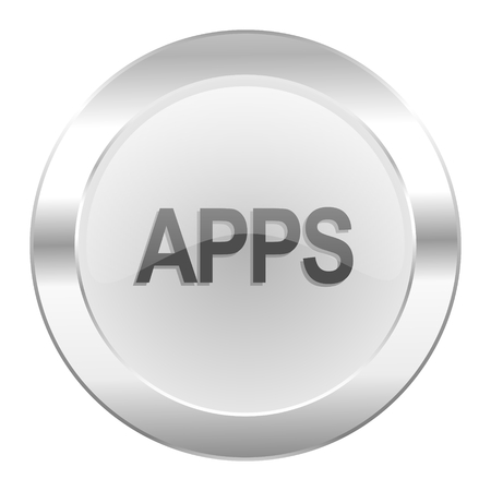 apps chrome web icon isolated