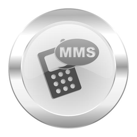 mms chrome web icon isolated photo
