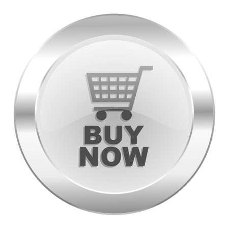 buy now chrome web icon isolated photo