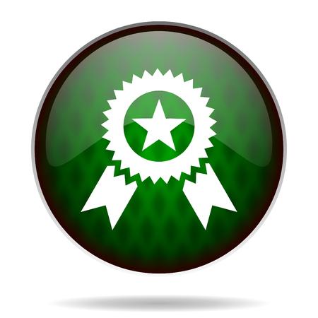 award green internet icon photo