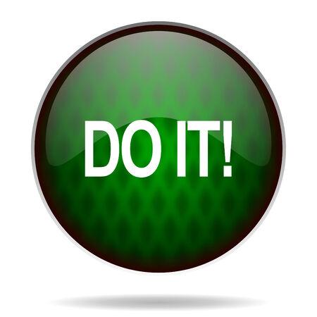 green it: do it green internet icon
