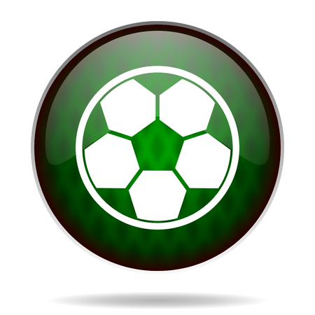 soccer green internet icon photo