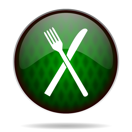 restaurant green internet icon photo