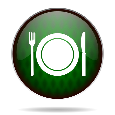 restaurant green internet icon photo