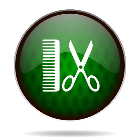 barber green internet icon photo