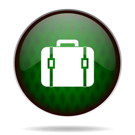bag green internet icon photo