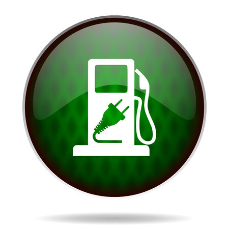 fuel green internet icon photo