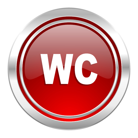 toilet icon, wc sign photo