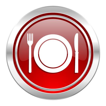 eat icon, restaurant symbol photo