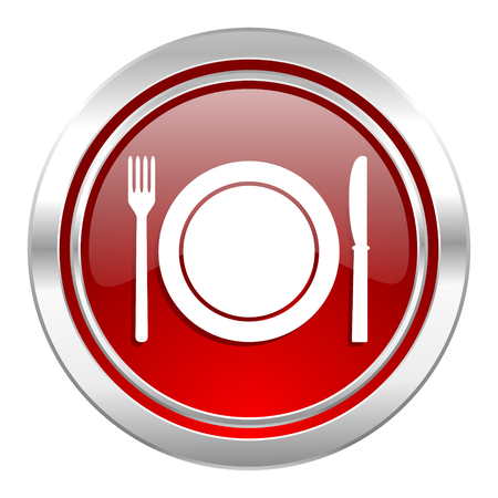 eat icon, restaurant symbol photo