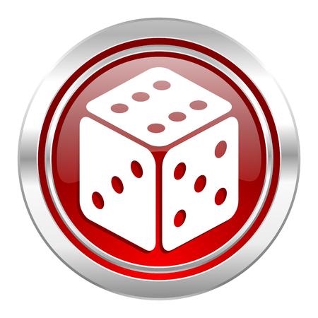 casino icon, hazard sign photo
