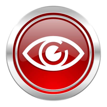 eye icon, view sign Stock Photo